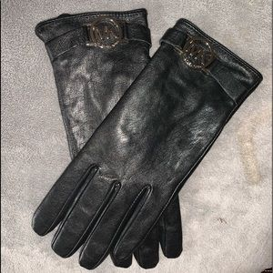 Michael Kors Genuine Leather Gloves